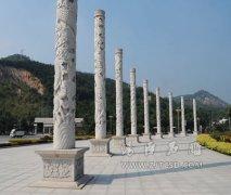 石雕龙柱在摆放上有什么讲究